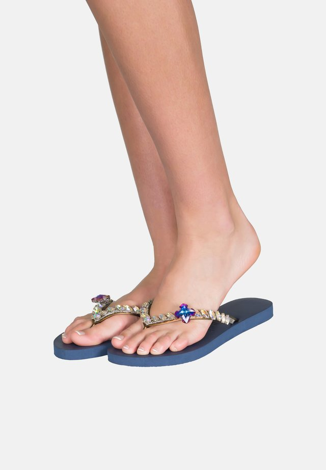 Pool shoes - navy blue