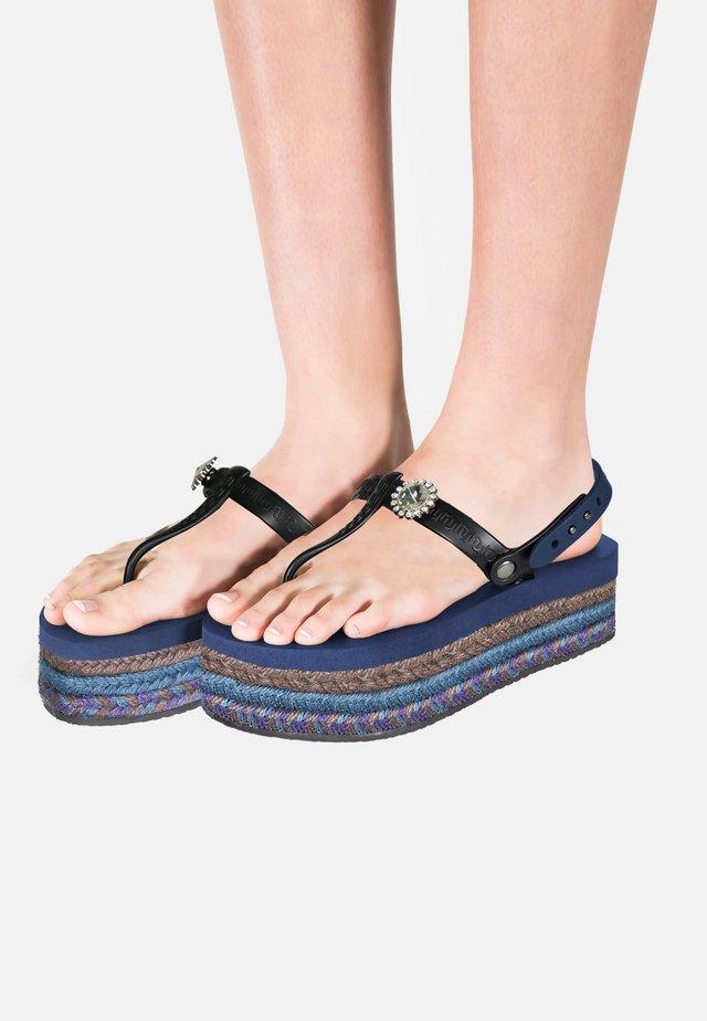 Sandały kąpielowe - navyblue
