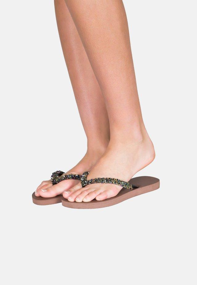ABY - Sandały kąpielowe - black
