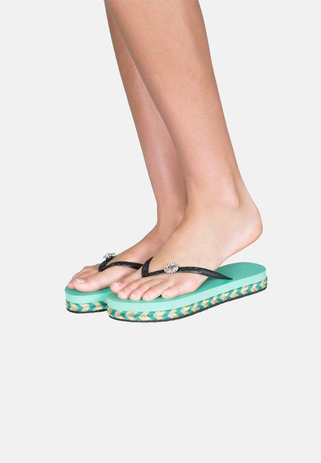 T-bar sandals - mintgreen
