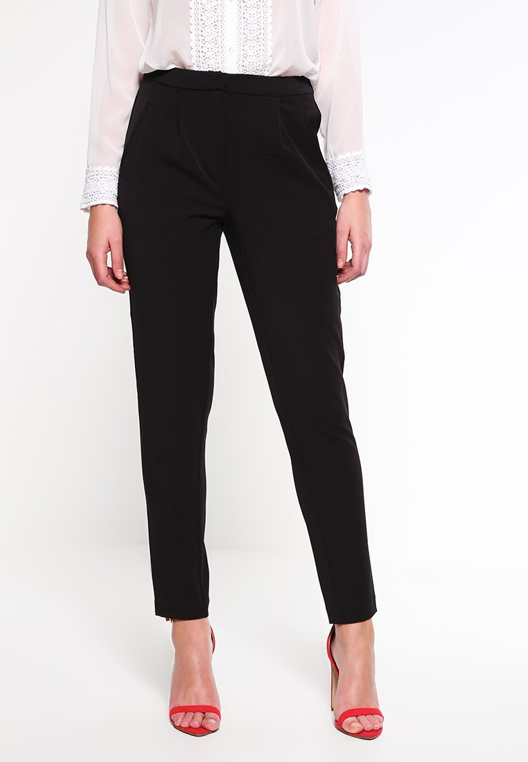 Vila - VIRENA - Trousers - black