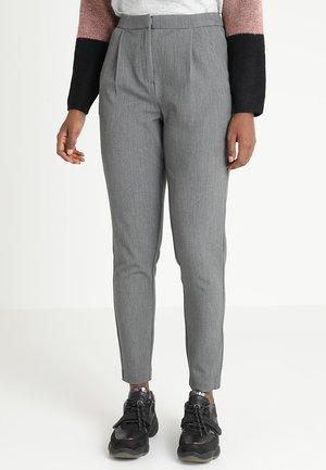 VIRENA - Kalhoty - medium grey melange