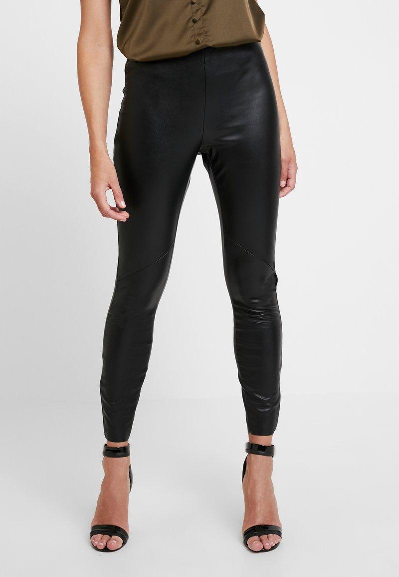 Vila - VIEMMA - Leggings - Trousers - black