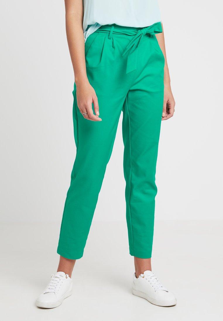 Vila - VISOFINA PANT - Trousers - pepper green