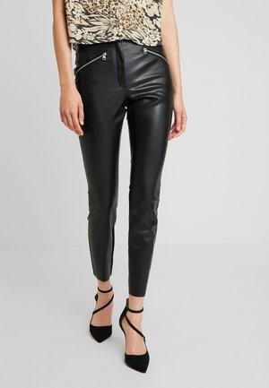 Pantaloni - black/trim silver