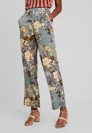 VILIVA PANT - Trousers - oil blue