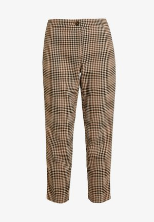 VIGESA 7/8 PANTS - Bukse - brown/black