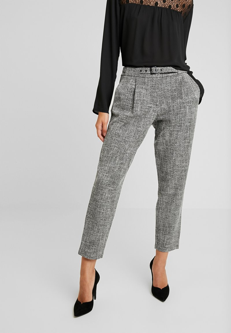 Vila - Trousers - medium grey melange