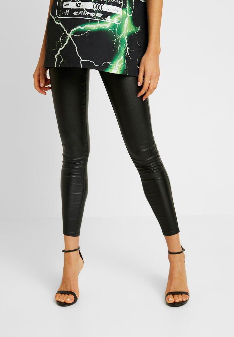 Vila - Spodnie materiałowe - black