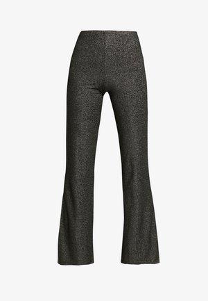 Kalhoty - black/silver