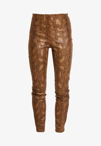 Vila - Trousers - toffee - 3
