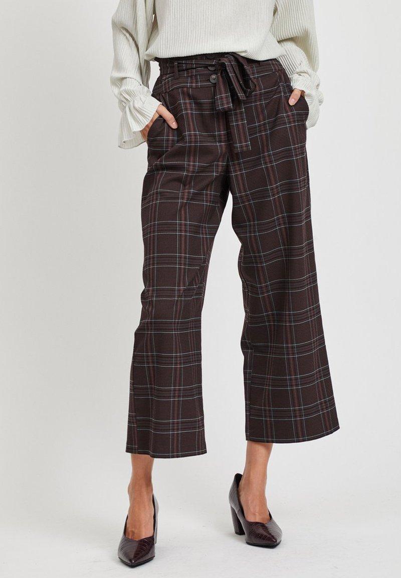 Vila - Pantalon classique - dark brown