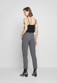 Vila - VITERRI PANT - Broek - medium grey - 2