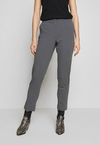 Vila - VITERRI PANT - Broek - medium grey - 0