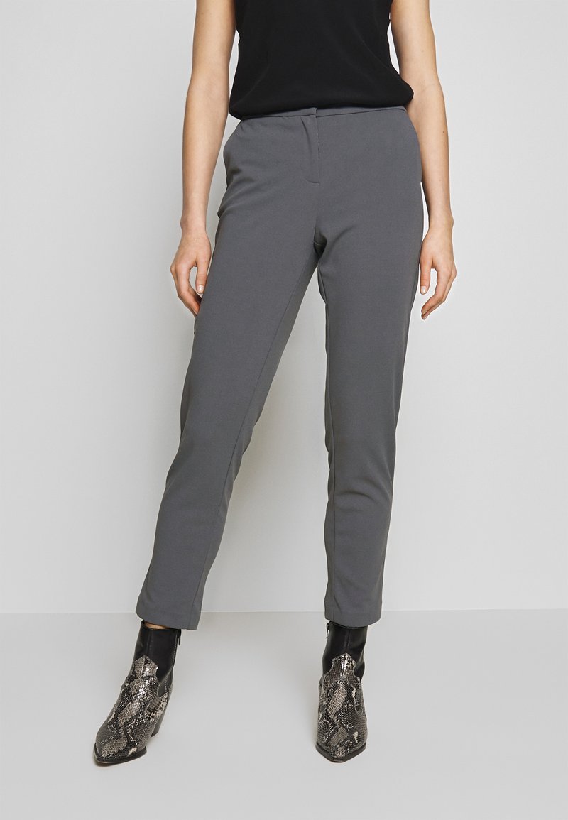 Vila - VITERRI PANT - Broek - medium grey
