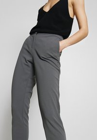 Vila - VITERRI PANT - Broek - medium grey - 5