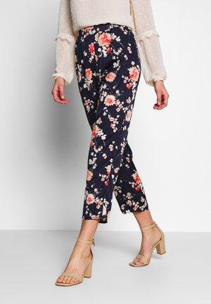 VIWILLA RWRX PANT - Trousers - navy blazer