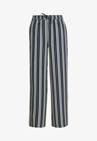 Vila - VIASTRATELLA RWRX PANTS - Broek - navy blazer/mellow yellow/ashley - 3