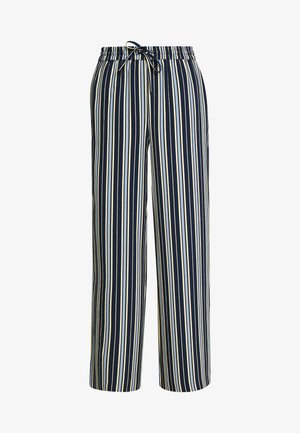 VIASTRATELLA RWRX PANTS - Bukse - navy blazer/mellow yellow/ashley