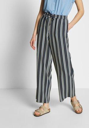 VIASTRATELLA RWRX PANTS - Pantalon classique - navy blazer/mellow yellow/ashley