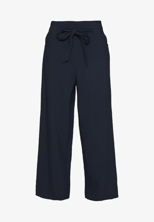 VILINEA WIDE PANTS - Trousers - navy blazer