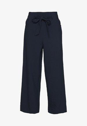 VILINEA WIDE PANTS - Bukse - navy blazer