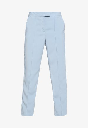 VINAHLA 7/8 PINTUCK PANTS - Pantaloni - light blue