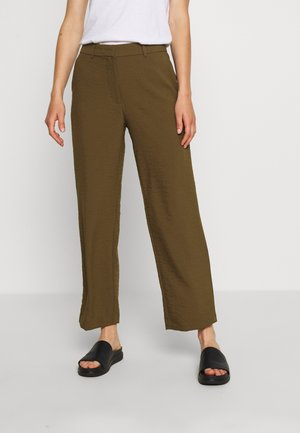 VILINEA PANTS - Trousers - dark olive