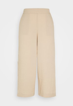 VILINEA PANTS - Trousers - beige