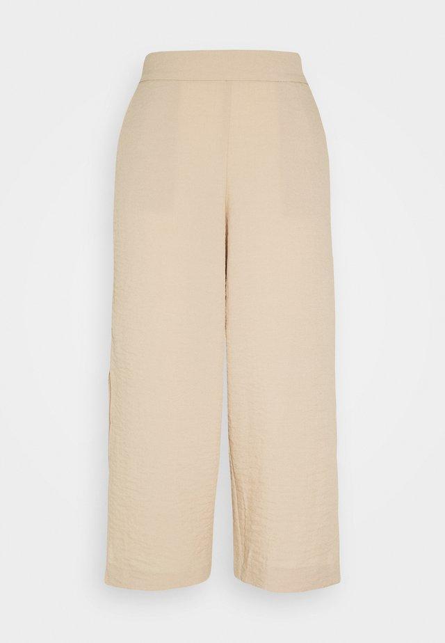 VILINEA PANTS - Tygbyxor - beige