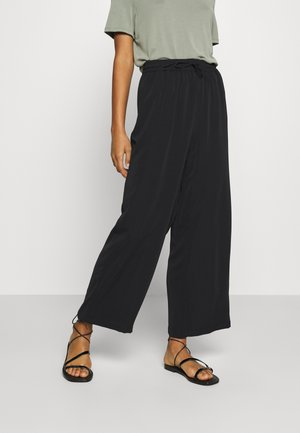 VIBASIKA PANTS - Trousers - black