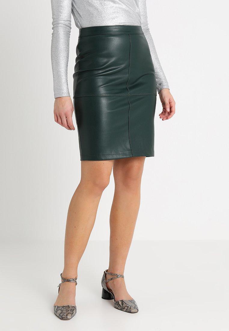 Vila - VIPEN NEW SKIRT - A-snit nederdel/ A-formede nederdele - dark green