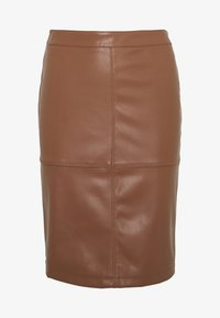Vila - VIPEN NEW SKIRT - Jupe crayon - brown - 3