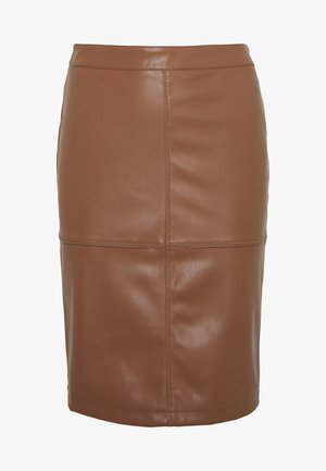 VIPEN NEW SKIRT - Pencil skirt - brown