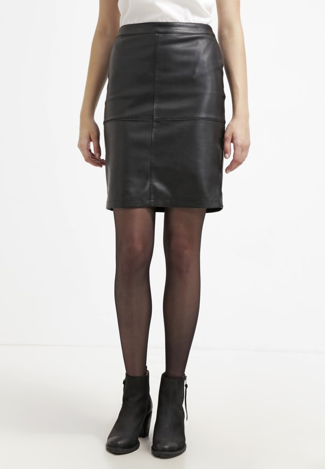 VIPEN NEW SKIRT - Pennkjol - black