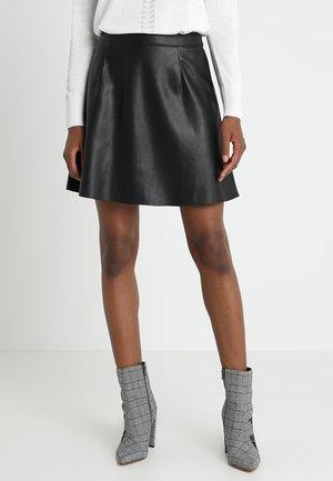 VIPEN SKATER  - A-line skirt - black
