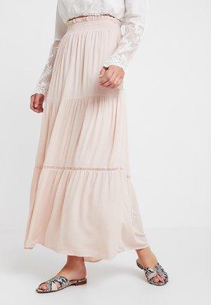 Falda larga - rose smoke
