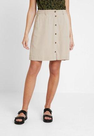 Minifalda - soft camel