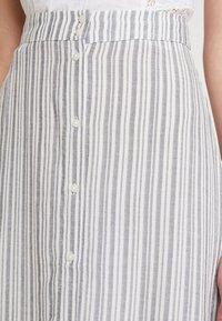 Vila - A-line skirt - navy blazer/cloud dancer - 5