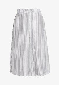 Vila - A-line skirt - navy blazer/cloud dancer - 4