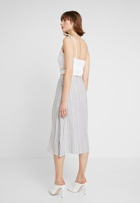 Vila - A-line skirt - navy blazer/cloud dancer - 3