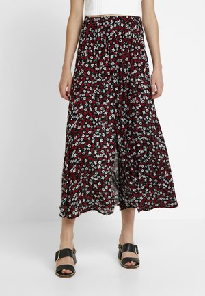 VIMYZZA LONG SKIRT - Maxi sukně - black
