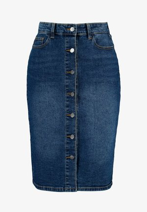 VISKYLAR SKIRT - Denimová sukně - medium blue denim