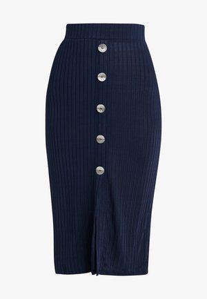 VIARLEY MIDI SKIRT - Pencil skirt - navy blazer
