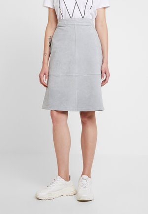 A-line skirt - castor gray