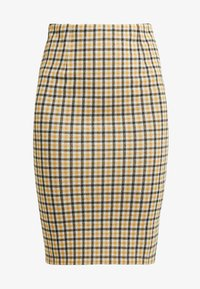 Vila - VIDIGAN PENCIL SKIRT - Pencil skirt - golden rod - 3