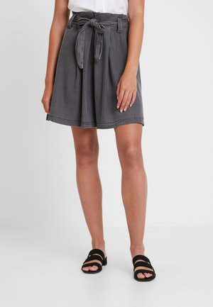 VIBISTA SHORT SKIRT - A-line skirt - black