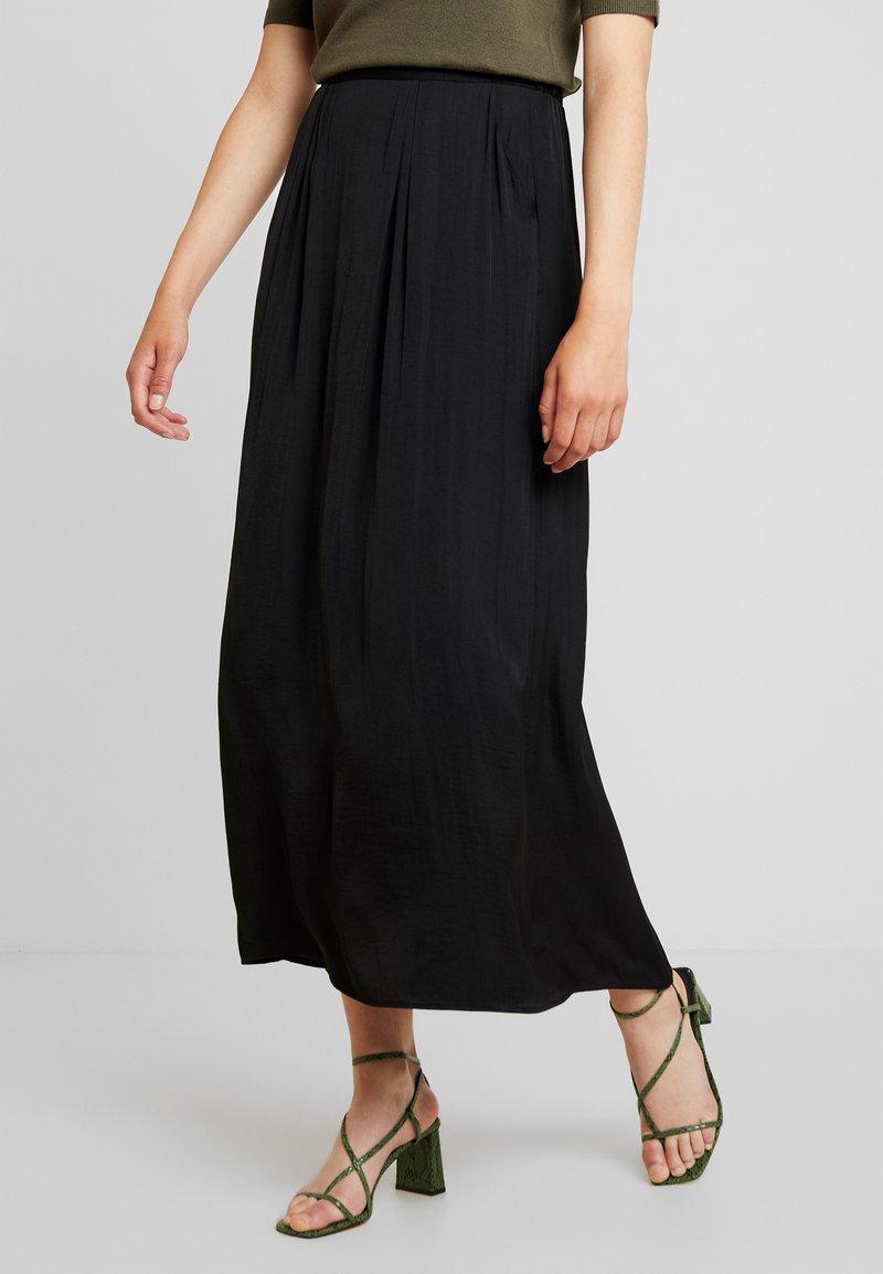 Vila - Maxi skirt - black