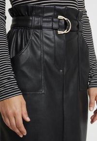Vila - VITALINA SKIRT - Pencil skirt - black - 4