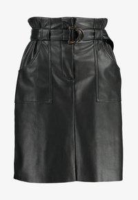 Vila - VITALINA SKIRT - Pencil skirt - black - 3